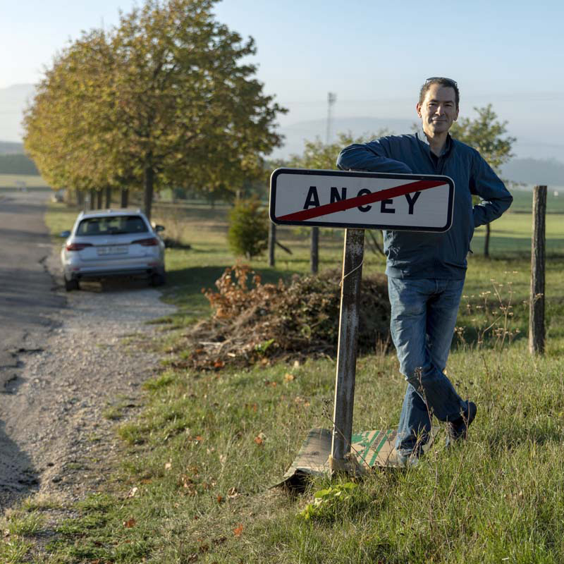 Ancey à Ancey (Côte d'Or, France) -- I do not come from this small village near Dijon, but finding it on my way was funny